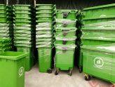 Thùng rác nhựa 120 và 240 lít giá rẻ nhất tại TPHCM